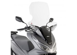 1163DT - Givi Parabrezza specifico trasparente 85 x 63 cm Honda PCX 125 18>19