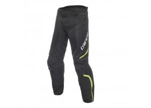 Pantaloni Dainese Drake Air D-Dry Impermeabili Nero/Nero/Giallo-Fluo