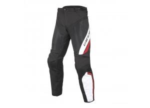 Pantaloni Dainese Drake Air D-Dry Impermeabili Nero/Bianco/Rosso