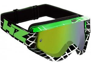 Occhiale Mascherina Off-Road HZ OVERLAP Verde OTG Compatibile