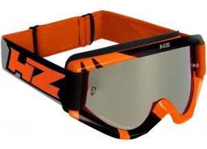 Occhiale Mascherina Off-Road HZ RAY Arancione/Grigio OTG Compatibile