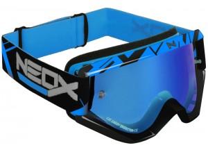 Occhiale Mascherina Off-Road HZ NEOX XX2  Blu OTG Compatibile