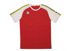 T-Shirt AGV AGO-1 Bianco Rosso