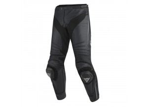 Pantaloni Dainese Racing Pelle Misano Nero/Anthracite