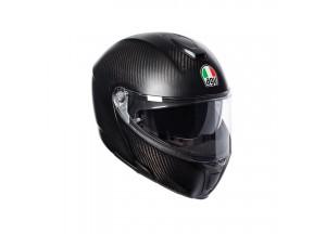 Casco Integrale Apribile Agv Sportmodular Carbon Opaco
