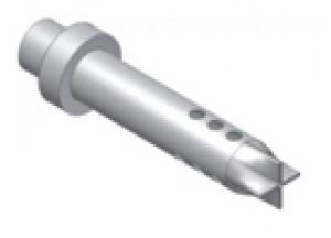 50.DK.029.0 - Mivv dB-killer d35 - d54 - L.190 mm - 9 fori- X-CONE PLUS