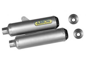 71662RK - TERMINALI SCARICO ARROW TITAN CARB CAP DUCATI MONSTER S4R/S2R 800-1000