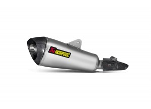 S-B12SO14-HLGT - Terminale Scarico Akrapovic Slip-On Tit/Carb BMW R1200R/S 2015