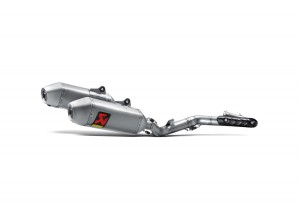 S-H4MR15-QTA - Scarico Completo Akrapovic Racing Line Inox/Titanio Honda CRF450R