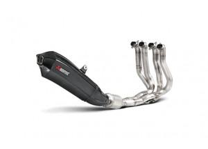 S-K10E3-HX2C - Scarico Akrapovic Evolution Titanio Carbonio Kawasaki NINJA H2
