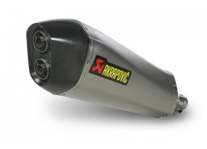 S-PI4SO3-HRSS - Terminale Scarico Akrapovic Slip-on PIAGGIO BEVERLY 400 - 500