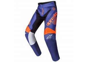Pantaloni Alpinestars RADAR 7 Blu/Arancione