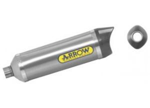 51505AK - MARMITTA ARROW ALLUM/FOND.CARBY THUNDER DERBI GPR 125 4T '10 C OMOLOG