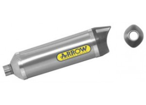 51505PK - MARMITTA ARROW TITAN/FOND.CARBY THUNDER DERBI GPR 125 4T.4V '10 OMOLOG