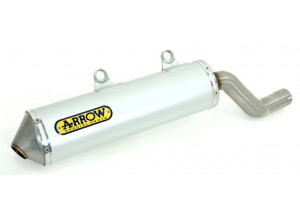52502AO - SCARICO COMPL.ARROW SIL.ALLUM+COLLETTORI INOX YAMAHA XT 125 X/R 05 OMO