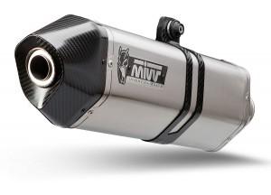 B.016.LRX - Terminale Scarico Mivv SPEED EDGE INOX carbonio BMW R 1200 GS 13-