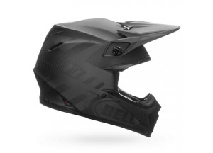 Casco Bell Off-road Motocross Moto-9 Carbon Flex Syndrome Nero Opaco