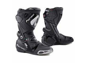Stivali In Pelle Racing Forma Ice Pro Nero Bianco