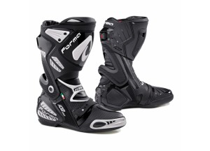 Stivali In Pelle Racing Forma Ice Pro Flow Nero Bianco
