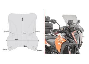 D7706S - Givi Cupolino specifico fumé Ktm 1290 Super Adventure S (17 > 18)