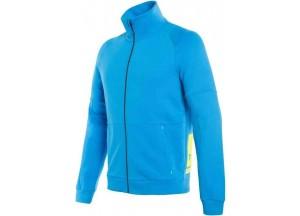 Maglia Tecnica Moto Uomo Dainese Full-Zip Sweatshirt Blu