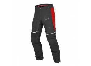 Pantaloni Moto Uomo D-Explorer Gore-Tex Nero/Rosso