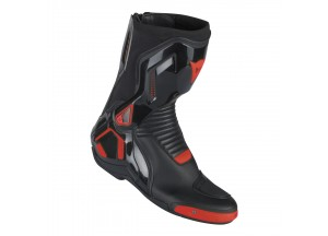 Stivali Dainese Uomo COURSE D1 OUT Nero/Rosso-fluo