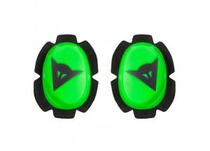 Protezione Ginocchia Dainese PISTA SLIDER Verde-Fluo/Nero