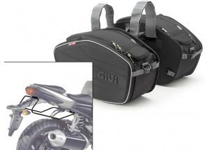 Borse Laterali Givi EA101B + telaietti specifici per Yamaha FZ1 1000 (06>15)