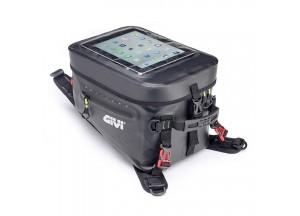 GRT715 - Givi Borsa Serbatoio Impermeabile Nera Con Interno Giallo 20 litri