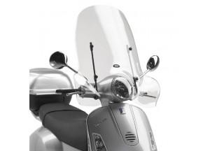 104A - Givi Parabrezza trasparente 51,5x69,5cm Vespa LX 50-125-150 (05 > 14)