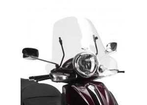 106A - Givi Parabrezza trasparente 32x61,5cm Piaggio Beverly
