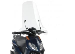136A - Givi Parabrezza trasparente 74x67cm Aprilia Sportcity Cube 125-200-300
