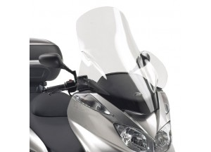 D137ST - Givi Parabrezza trasparente 74x64 cm Yamaha Majesty 400 (04 > 08)