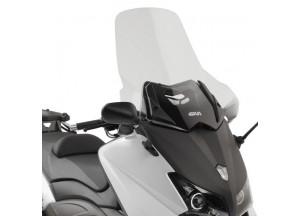 D2013ST - Givi Parabrezza trasparente 65x61 cm Yamaha T-MAX 530 (12 > 16)