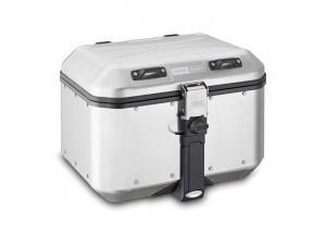DLM46A - Givi Valigia Monokey Trekker Dolomiti alluminio naturale 46 lt