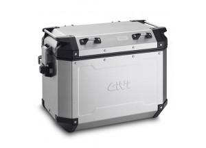 OBKN48AL - Givi Valigia laterale Sinistra Trekker Outback alluminio 48lt.
