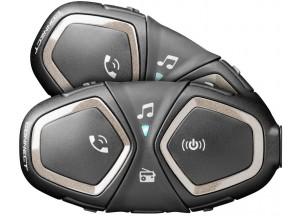 Interfono Doppio Twin Pack Cellularline Connect Bluetooth Universale