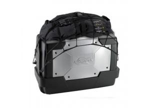 K9910N - Kappa Rete elastica portaoggetti colore nero