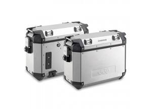 KVE37APACK2 - Kappa Coppia di valigie laterali MONOKEY® K-VENTURE 37 Lt.