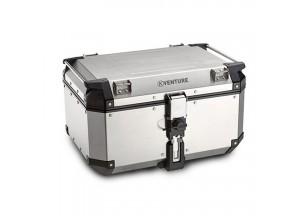 KVE58A - Kappa Valigia MONOKEY® K-VENTURE in alluminio naturale 58 lt. da 1,5 mm