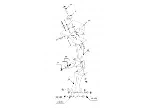 ACC.003.0 - Kit Portatarga Mivv per Ducati 749 / 999