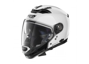 Casco Integrale Crossover Nolan N70.2 GT Classic 5 Metal Bianco