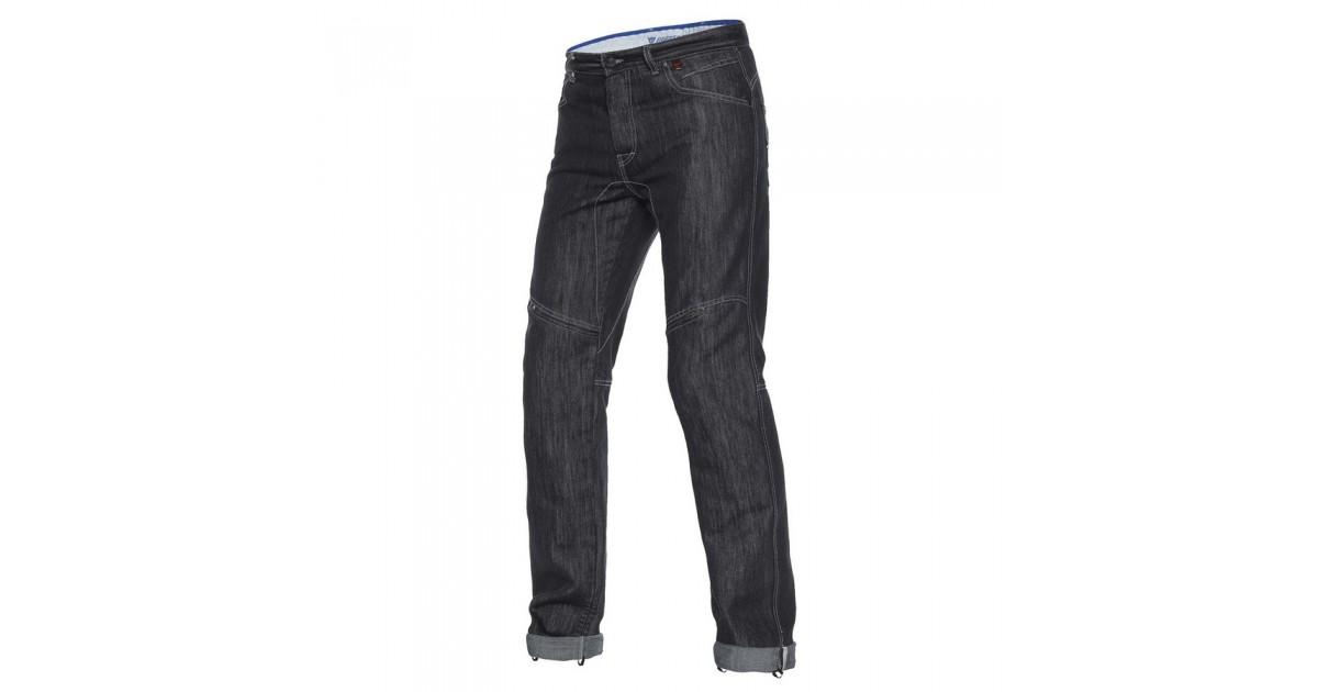 Dainese D1 EVO Black Aramid Denim Jeans