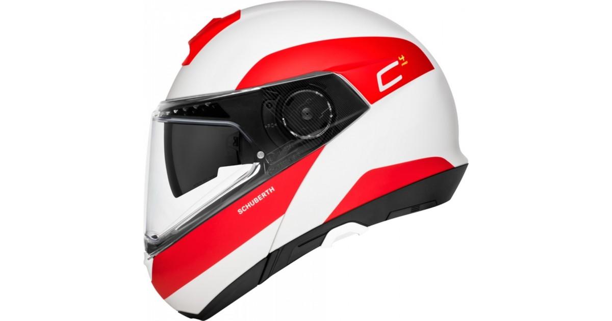 f1c03468 EM LINEAMOTO | Schuberth - C4 Pro Fragment Matt Red - Helmet Full-face  Flip-Up