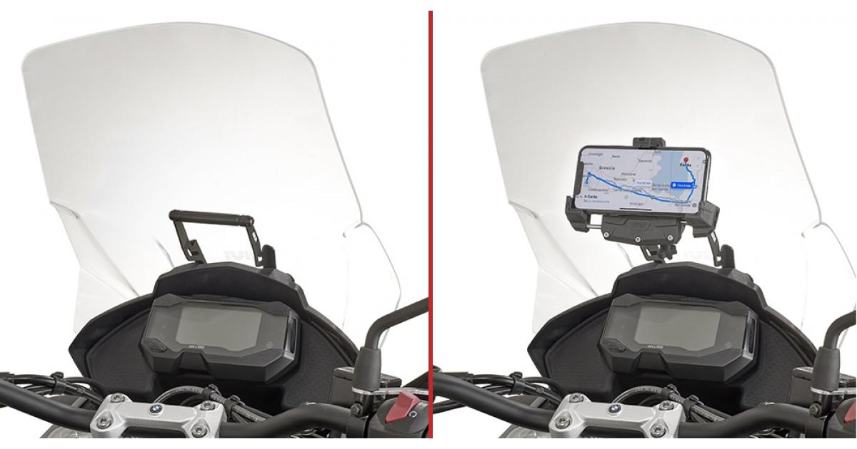 Support pour portable Smartphone Honda Varadero XL 1000 V Givi S957B