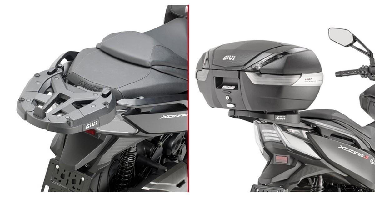 Top Case GiVi Monolock Support pour Yamaha Cygnus X MBK Flame