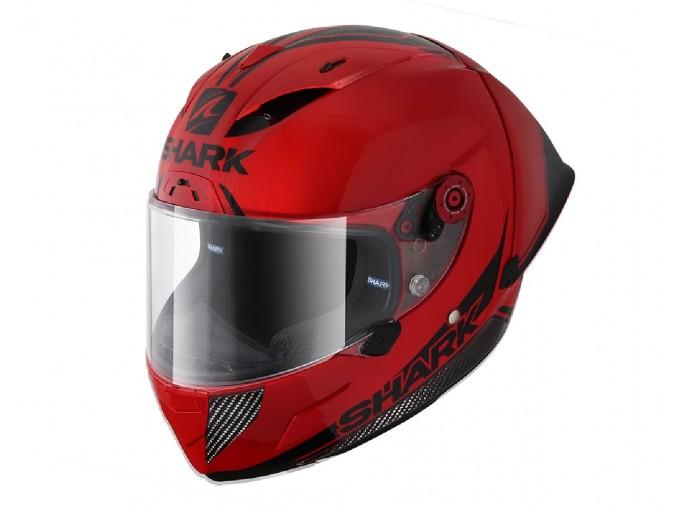 Full-Face Helmet Shark RACE-R PRO GP 30TH ANNIVERSARY Red Black
