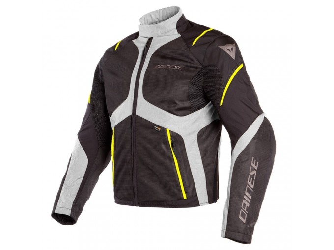 Dainese - Sauris D-Dry Black Quarry Fluo Yellow - Jacket D-Dry