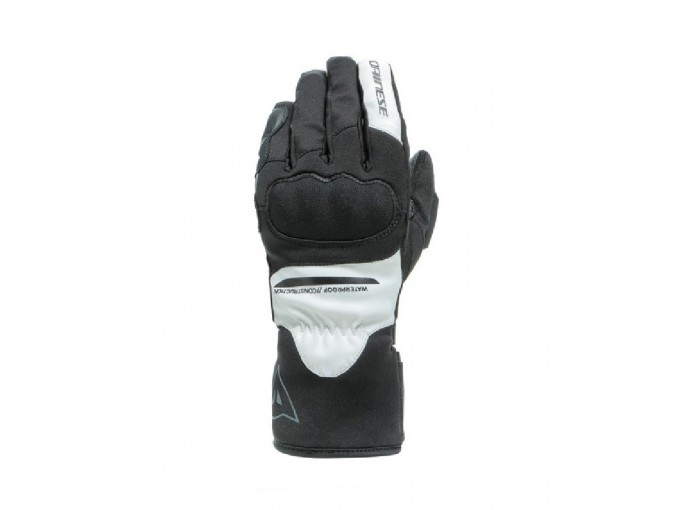 Motorcycle Gloves Dainese AURORA LADY D-Dry Black White